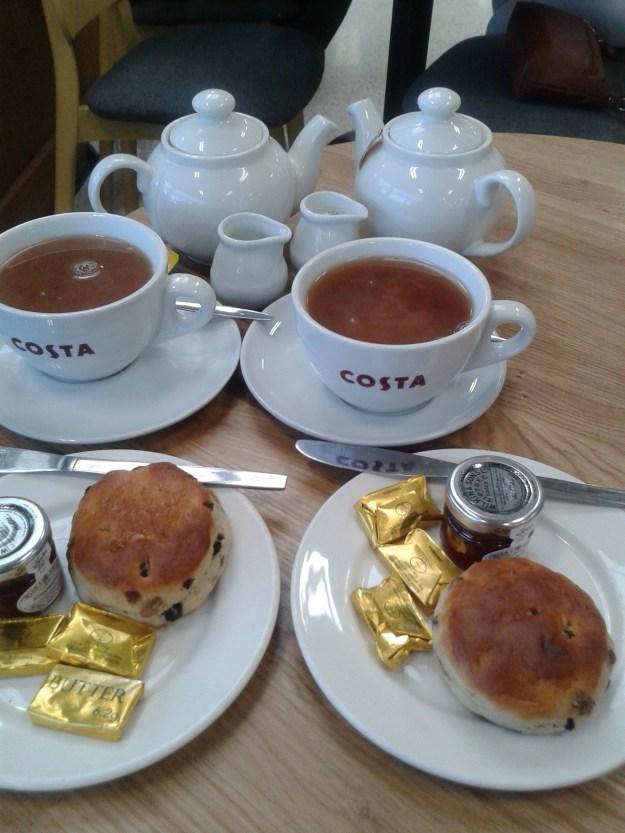 Creamless cream tea - TESCO Chesterfield