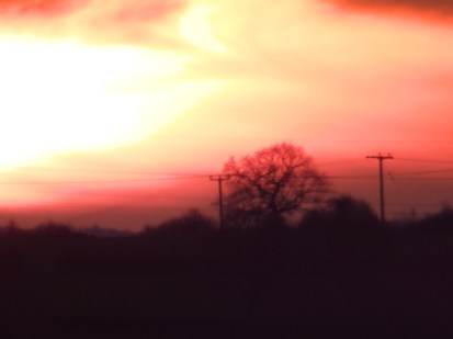 Sunset, Nottinghamshire
