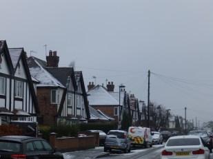 Snow in Nottingham