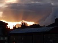 Sunset from Sainsbury's