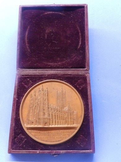 Canterbury Cathedral 1840s - in original box