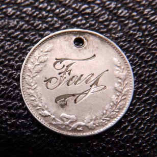 Edward VII 3d Love Token 2