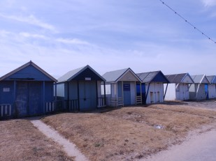 Beach huts Sutton on Sea