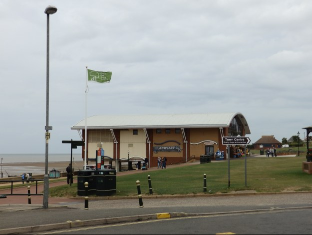 Hunstanton Pier from the side - can you see the problem?