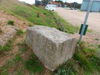 Tank trap at Dunwich