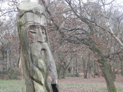 Sherwood Forest - carving