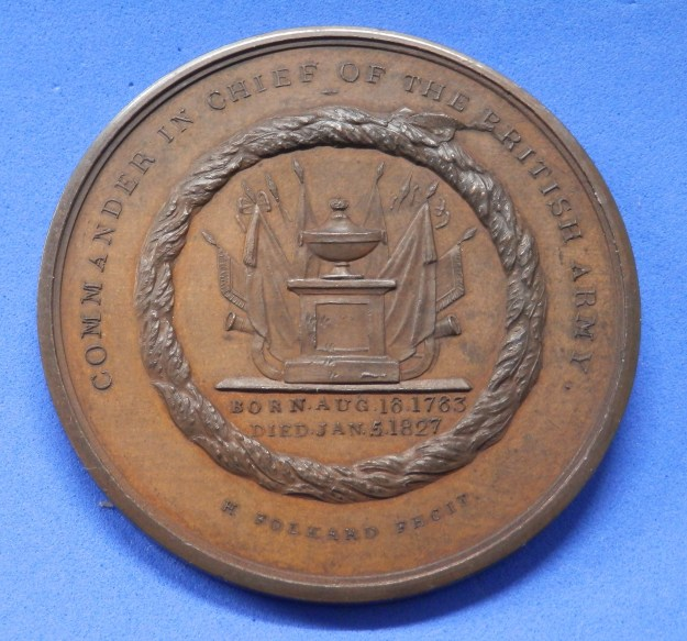 Frederick, Duke of York, reverse