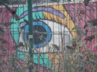 Graffiti at the Leisure Centre