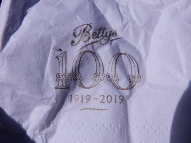 Bettys - 100 years this year