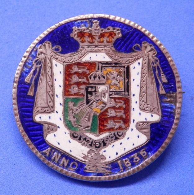 Enamelled William IV Half-crown 1836