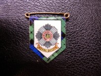 Royal Scots Sweetheart Brooch 1