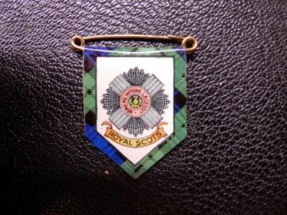 Royal Scots Sweetheart Brooch 1