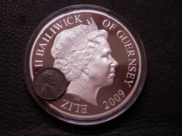 Five Ounce Silver Coin
