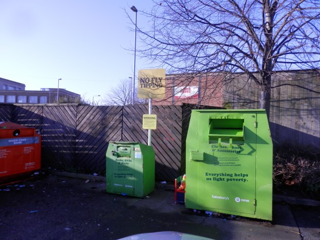 Recycling - Sainsbury's, Arnold, Notts