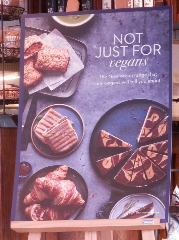 Cafe Nero Vegan Menu