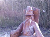 Wooden Wizard at Carsington
