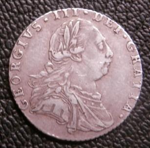 Sixpence George III