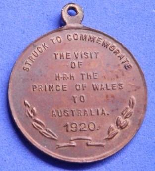 Royal Visit to Australia 1920