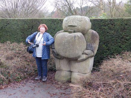 Sculpture at Ruffird - I will say no more...