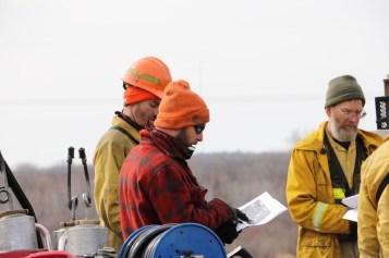 Reviewing Burn Unit Maps