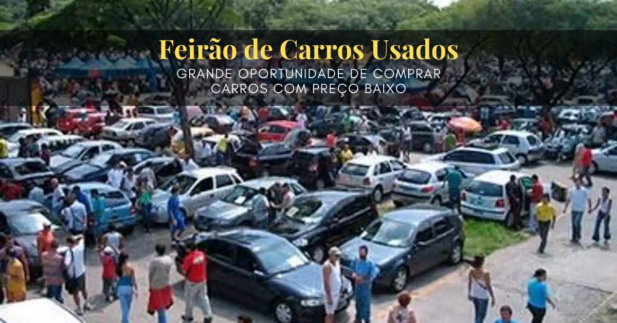 Feirão de carros usados