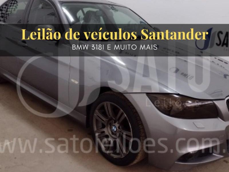 BMW 318Iem leilão do Banco Santander