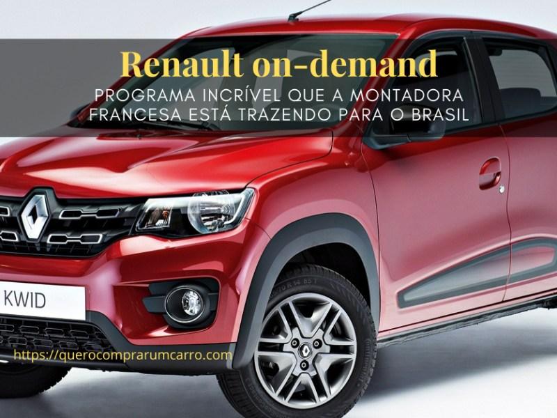 Renault on-demand