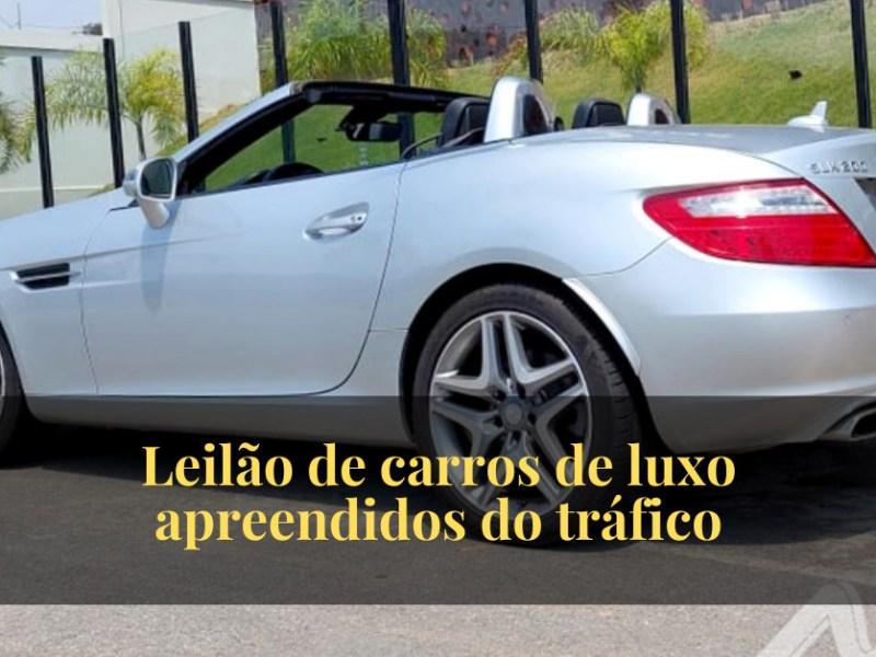 Leilão de carros de luxo apreendidos do tráfico