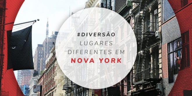 Lugares diferentes em Nova York: NY fora do óbvio