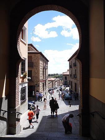 O que fazer em Toledo - vista encantadora