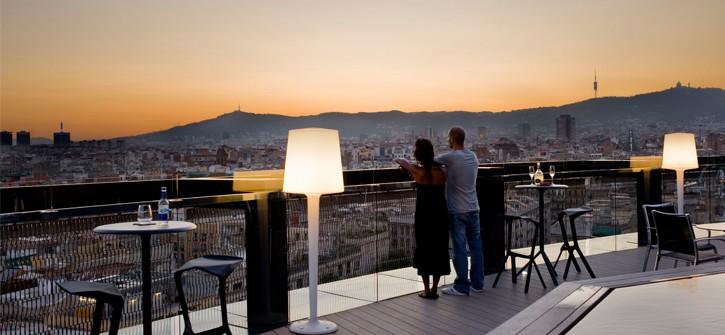 A vista de hotel semana de las terrazas de hoteles de - Terrazas hoteles barcelona ...