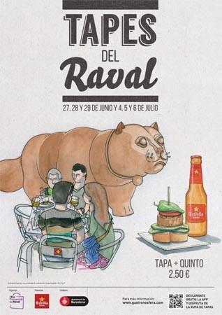 RUTA DE TAPES DEL RAVAL TAPAS BARCELONA QUE SE CUECE EN BCN