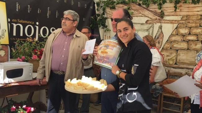 Paloma, segunda en el Concurso de corte de queso