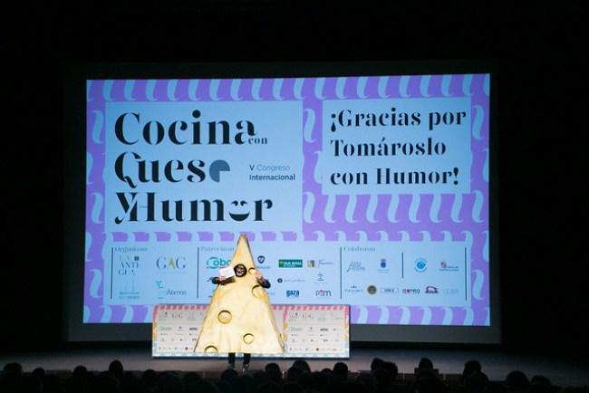 ¿Conseguiremos sorprenderos en el VI Congreso Cocina con Queso y Humor?