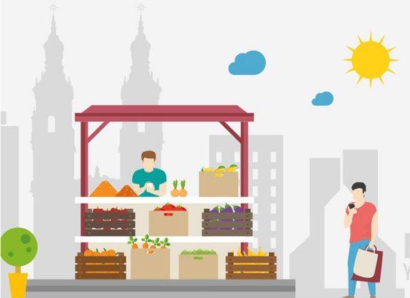 Compra en el comercio local ¡Dale vida a tu barrio!