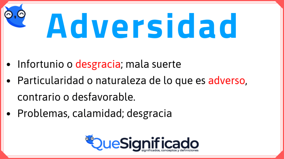 adversidad-significado
