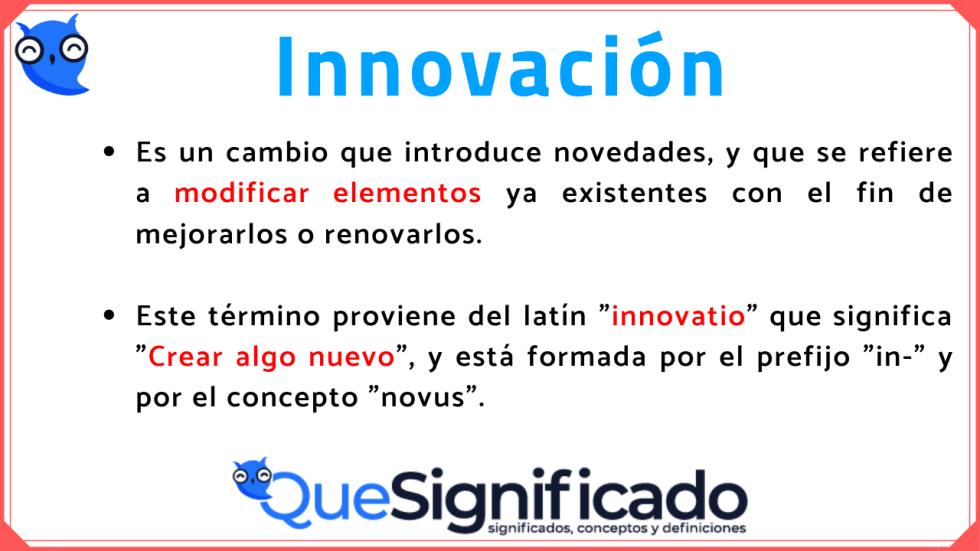 innovacion-significado-definición