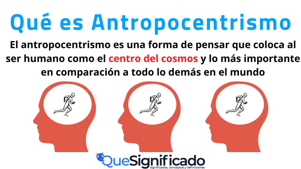 Antropocentrismo Significado Características Ejemplos