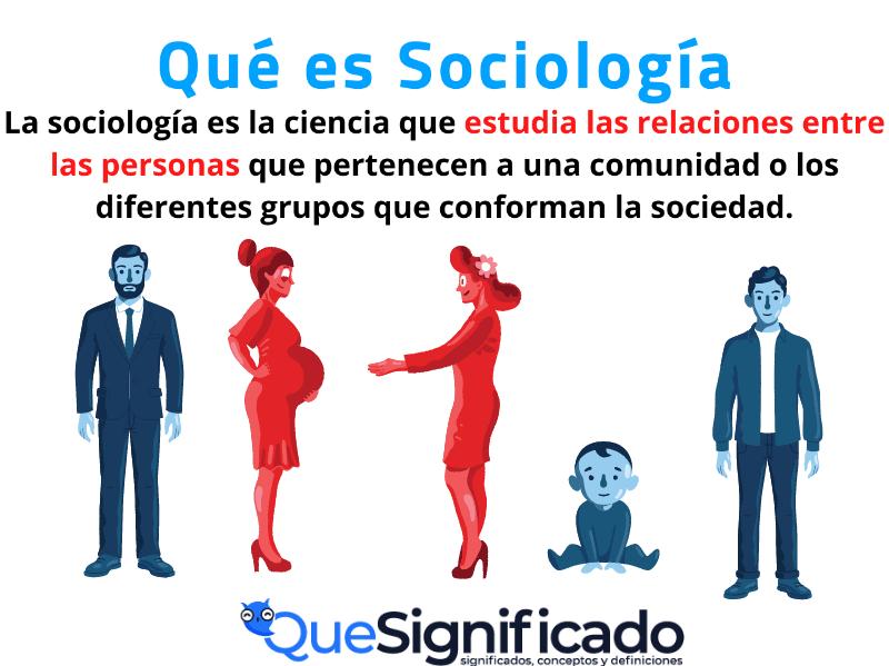 Que es Sociología Significado Concepto definición