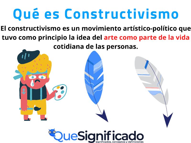 que es constructivismo significado concepto definicion