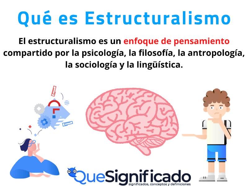 que es estructuralismo significado concepto definicion