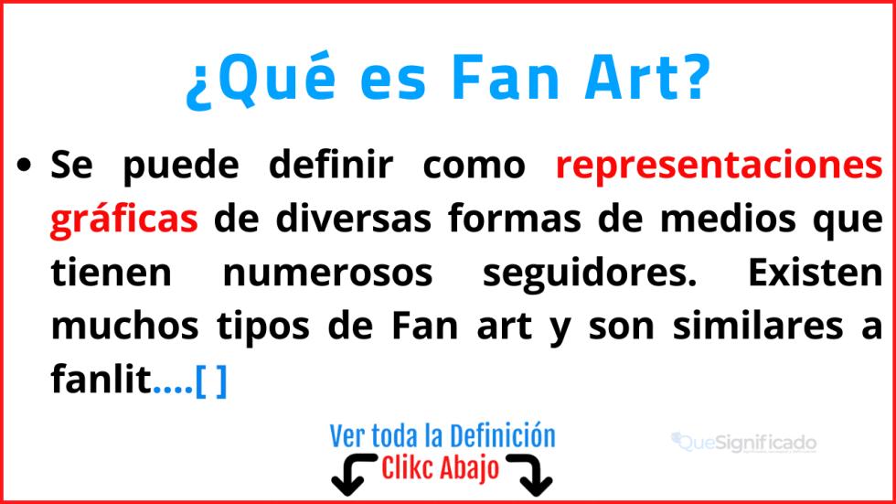 Qué es Fan Art