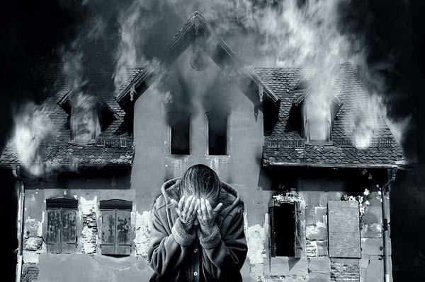 Soñar con incendio en mi casa