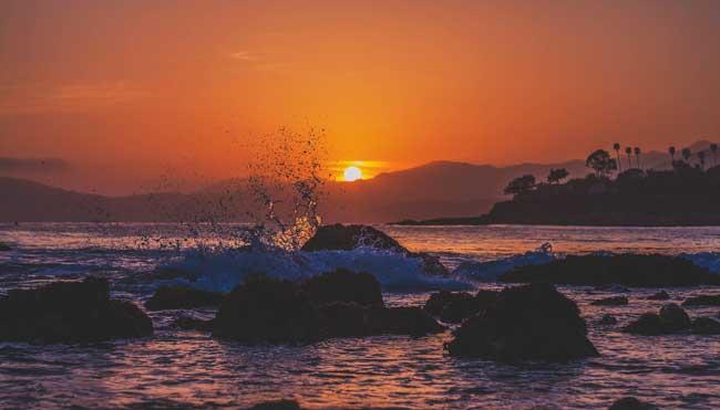 Soñando con el mar bravo y de noche