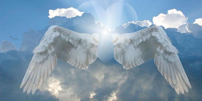 Soñar con ángeles en el cielo
