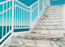 Soñar con escalera de metal