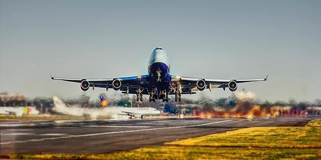 Soñar con avión despegando