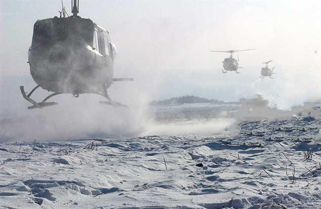 Soñar con helicopteros