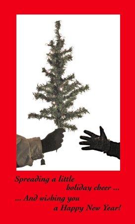 The 2009 Christmas card.