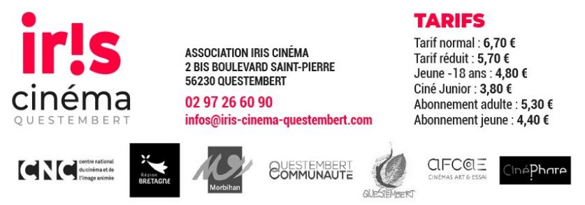 Inofs sur l'Iris Cinéma